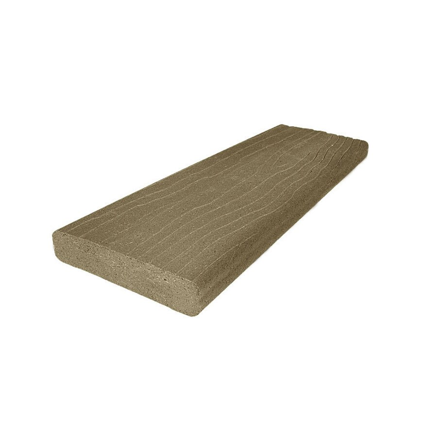 MoistureShield (Actual: 1.5-in x 3.5-in x 12-ft) Vantage Earthtone Composite Deck Board