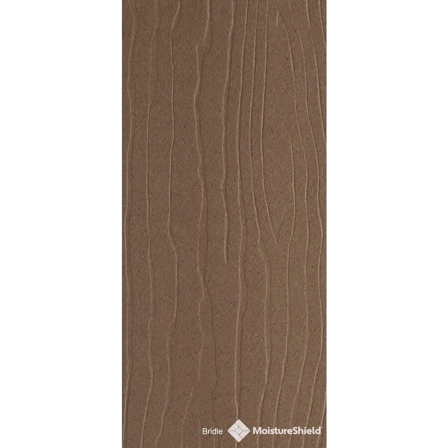 MoistureShield Vantage Bridle Composite Deck Board (Actual: 1-in x 5.4-in x 12-ft)
