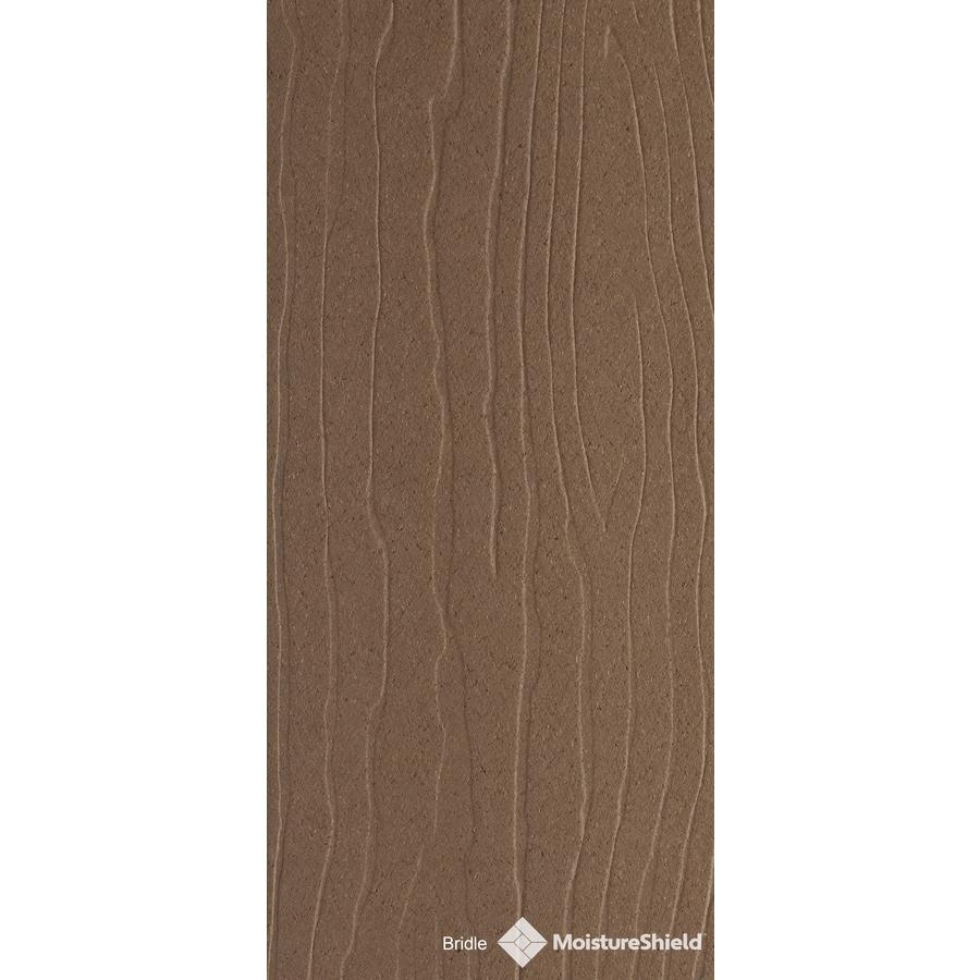 MoistureShield Vantage Bridle Composite Deck Board (Actual: 1-in x 5.4-in x 20-ft)
