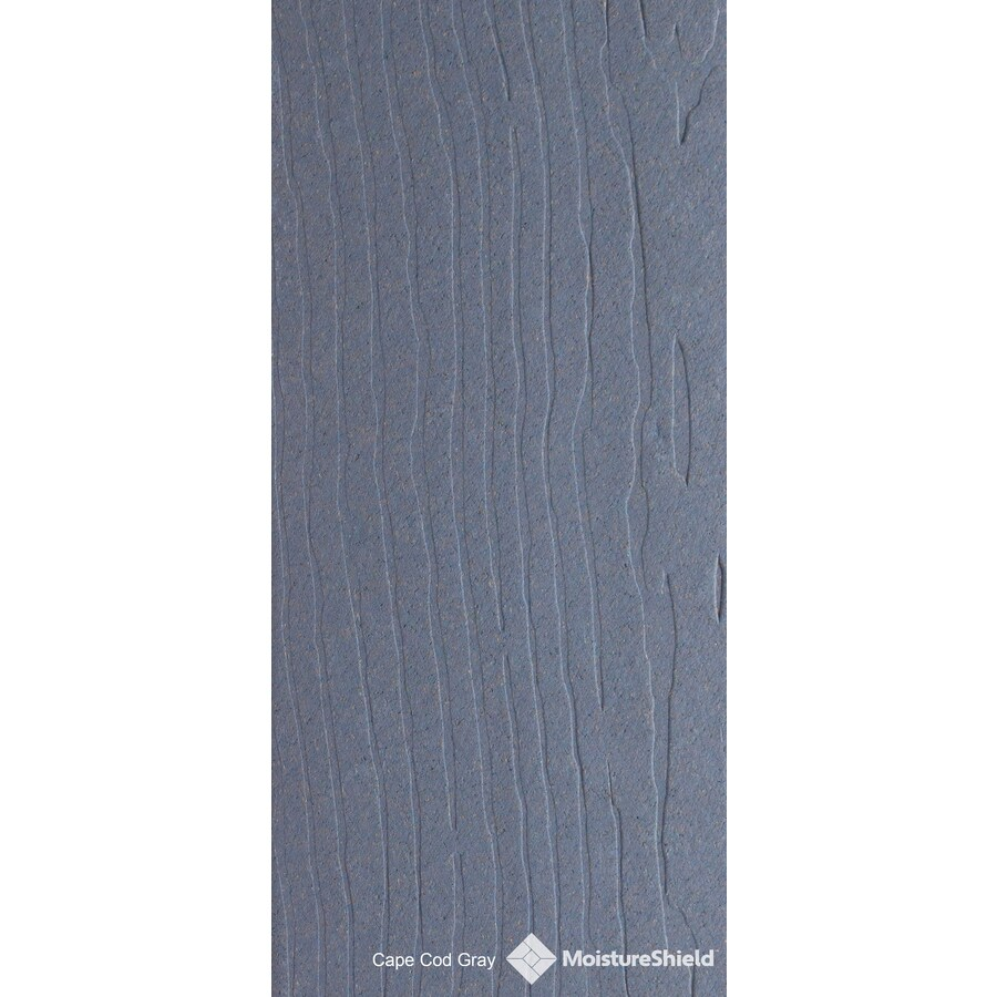 MoistureShield Vantage Cape Cod Gray Composite Deck Board (Actual: 1-in x 5.4-in x 20-ft)