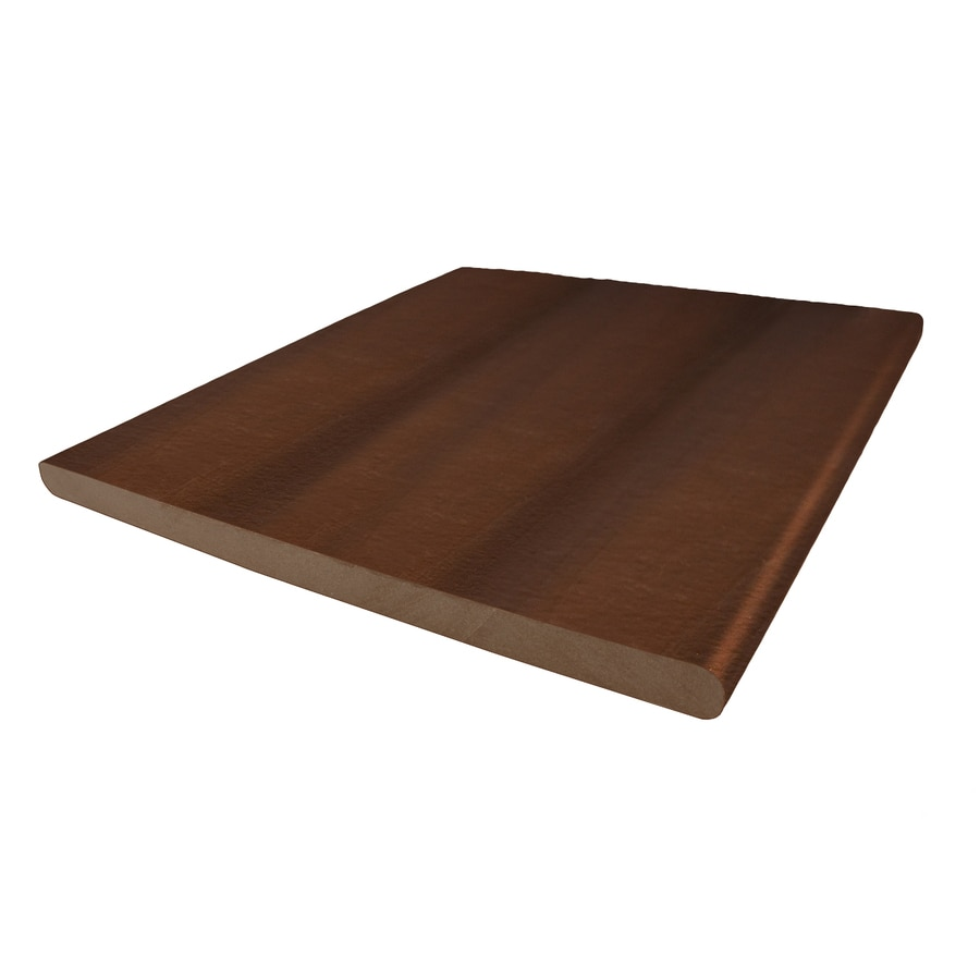 MoistureShield (Actual: 0.625-in x 11.25-in x 12-ft) Brazilian Chestnut Composite Deck Board