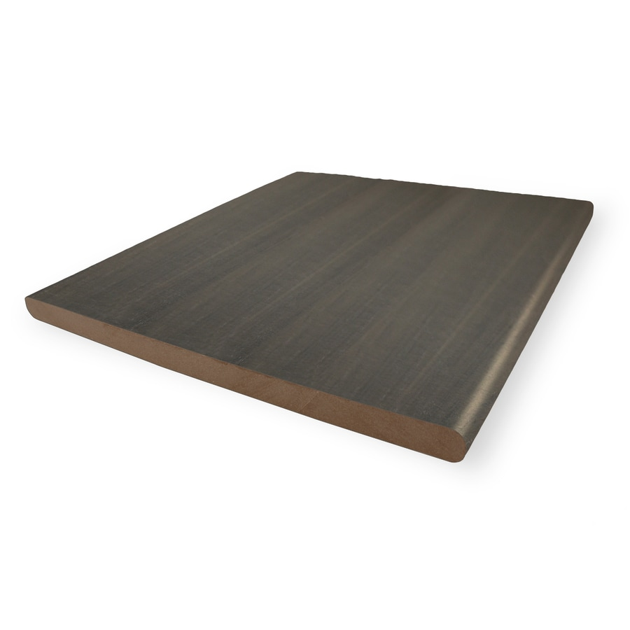 MoistureShield Graystone Composite Deck Board (Actual: 0.625-in x 11.25-in x 12-ft)
