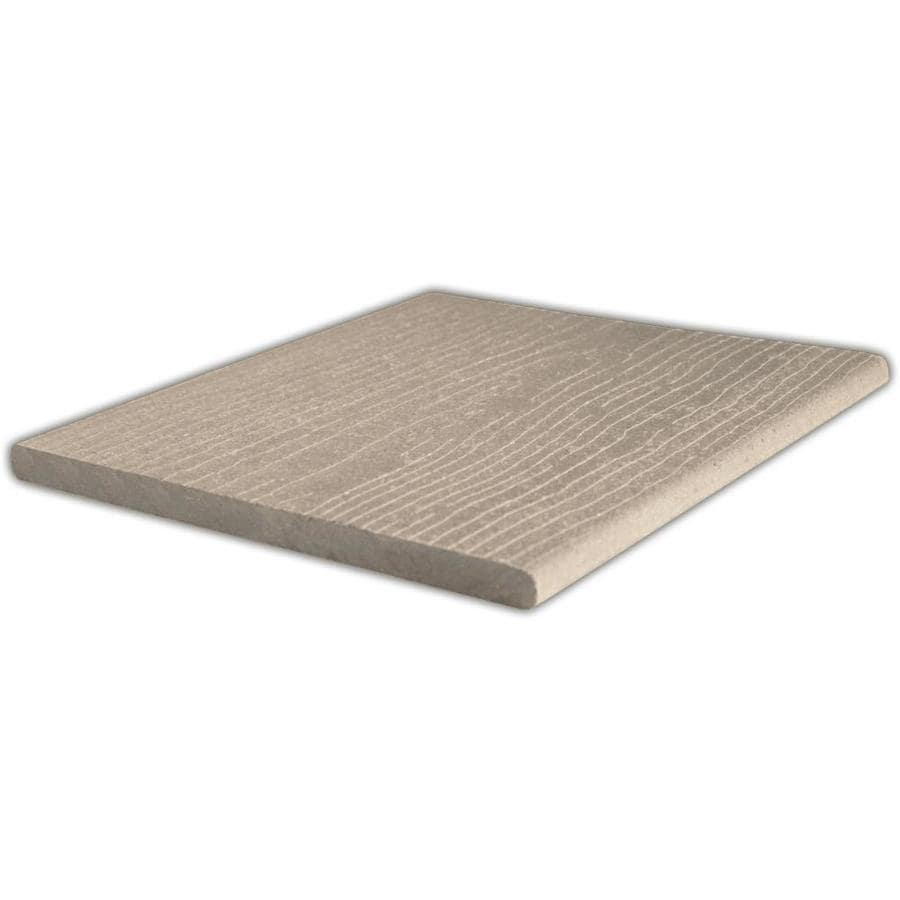 ChoiceDek Foundations Beach House Gray Composite Deck Board (Actual: 0.67-in x 11.25-in x 8-ft)