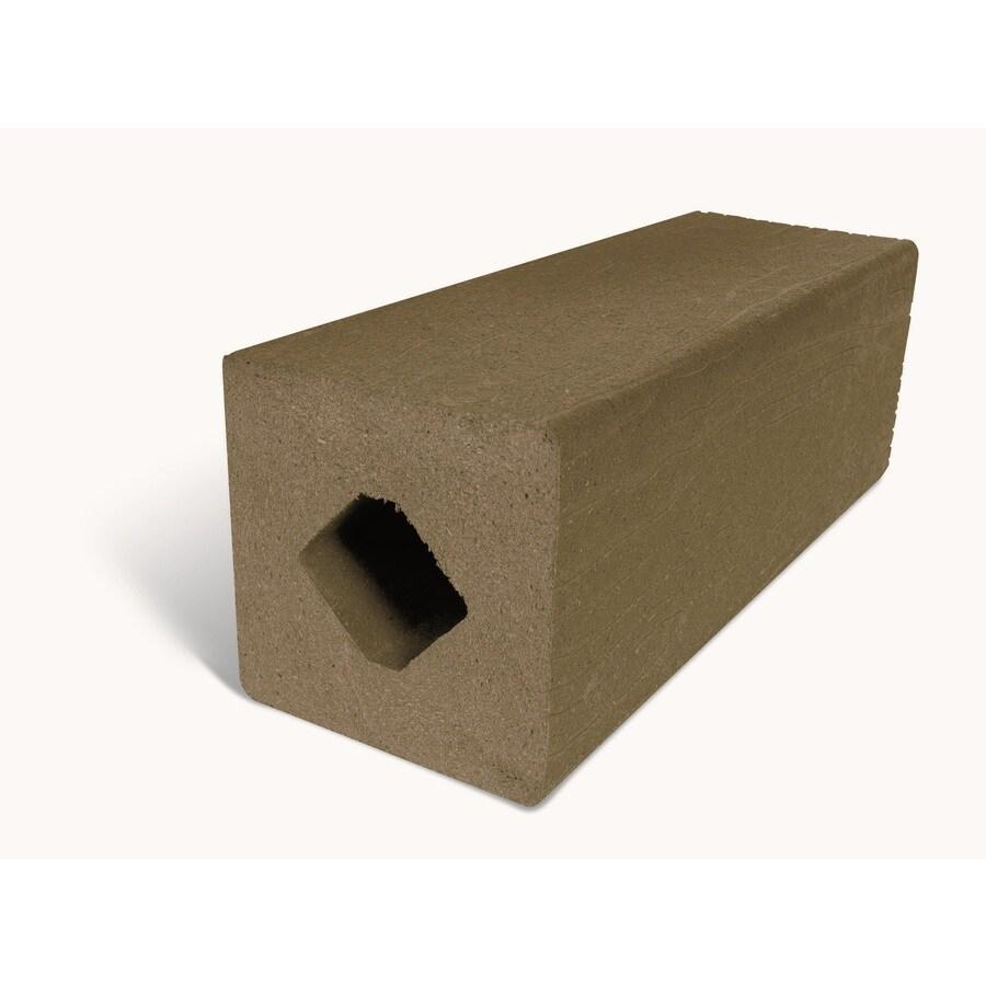 MoistureShield Earthtone Composite Deck Post (Common: 4-in x 4-in x 4-1/2-ft; Actual: 4.265-in x 4.265-in x 4.25-ft)