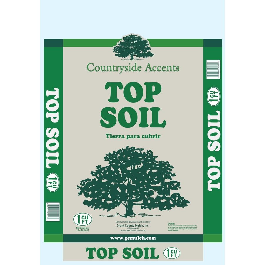 1-cu ft Organic Top Soil