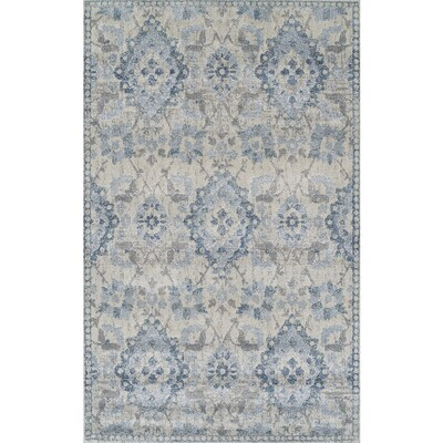 Addison Rugs Wellington Blue Indoor French Country Area Rug