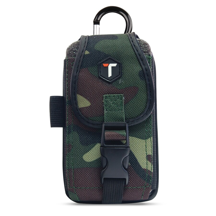 Tough Tested Camo Nylon Smart Phone Case for Phones Up to 5.5-in x 3-in x 0.5-in