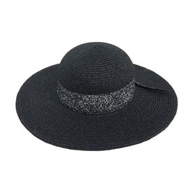 d962737711923 OLE One Size Fits Most Women s Black Natural Fiber Wide-Brim Hat