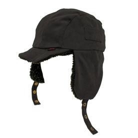 b4aca9a5a7e OLE One Size Fits Most Unisex Black Cotton Flap Cap