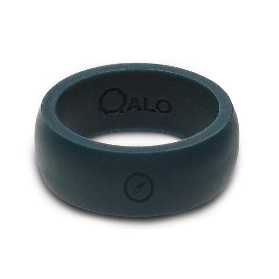 QALO Slate Grey Ring Size 12
