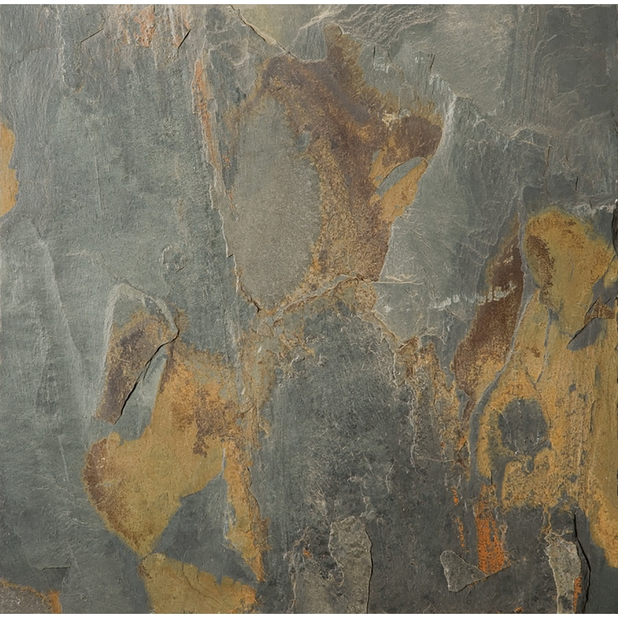Shop emser 1587 in x 1587 in multicolor natural slate floor tile emser 1587 in x 1587 in multicolor natural slate floor tile dailygadgetfo Image collections