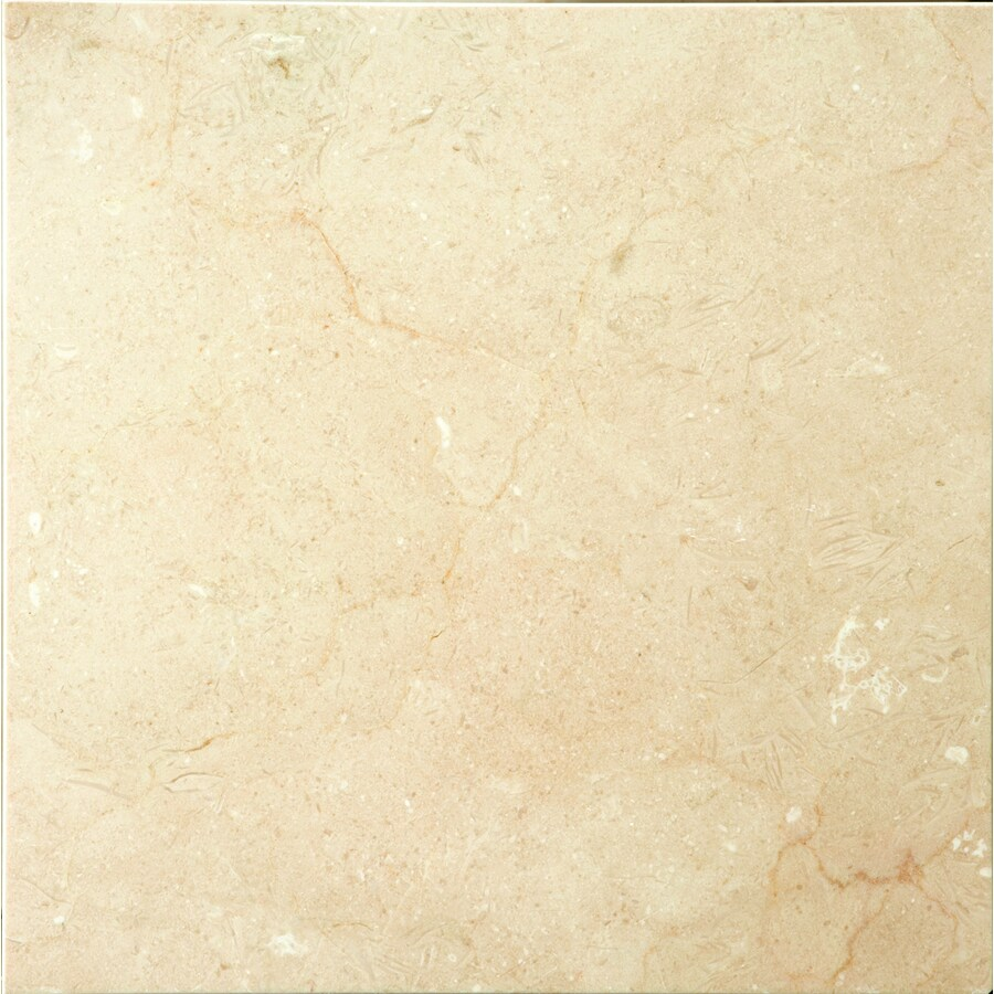 Emser Crema Marfil Plus Marble Floor and Wall Tile (Common: 12-in x 12-in; Actual: 12-in x 12-in)