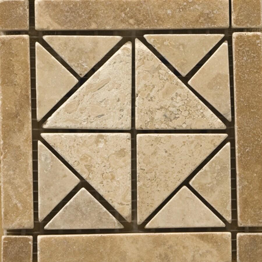 Emser 4-in x 4-in Freisa Natural Travertine Floor Tile