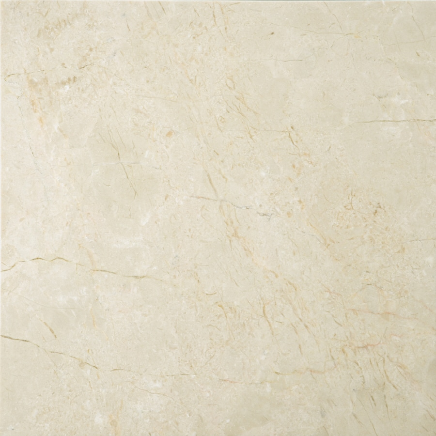 Emser 5-Pack 12-in x 12-in Cream Beige Natural Marble Floor Tile