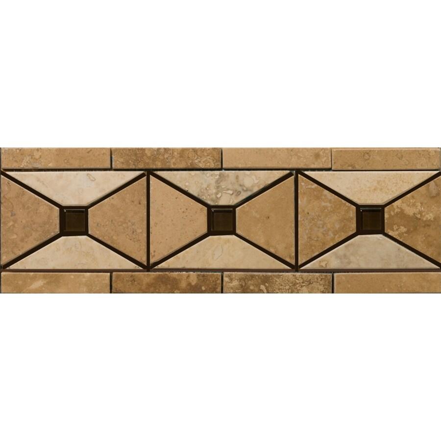 Emser 4-in x 12-in Faloria Natural Travertine Floor Tile