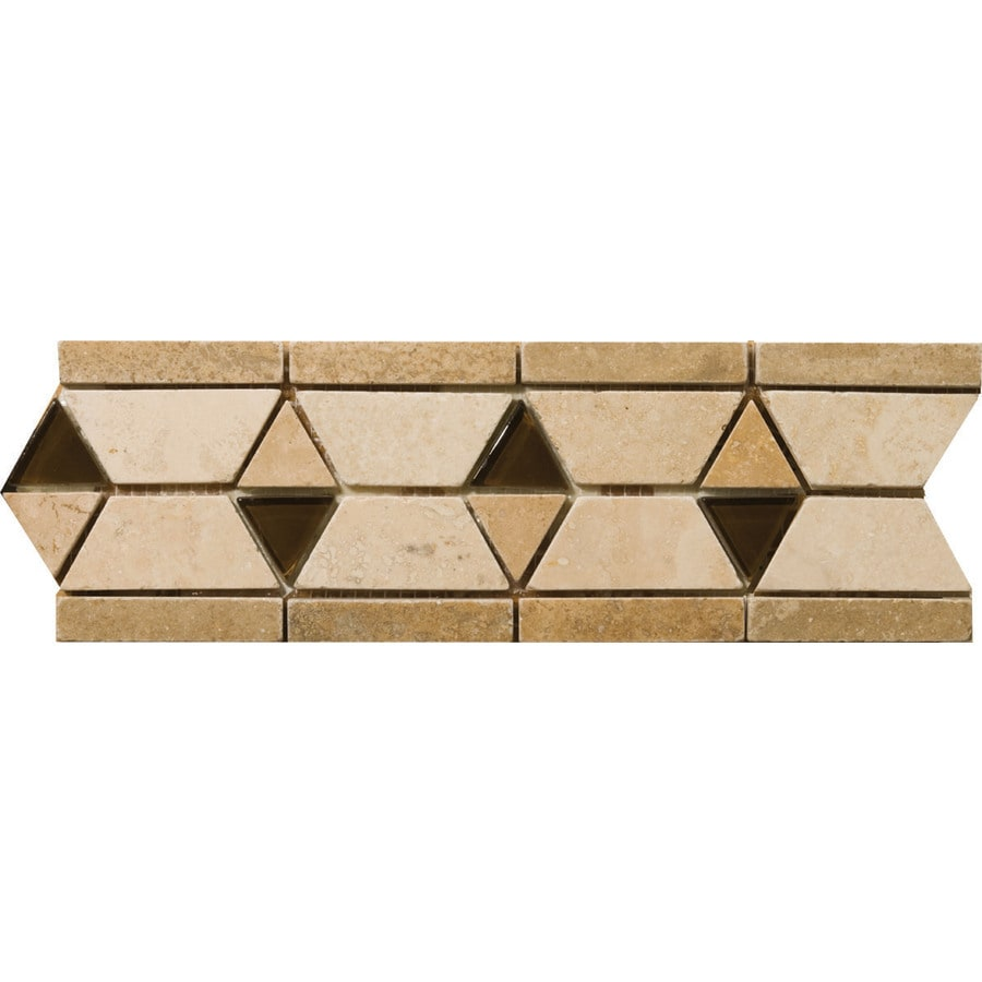 Emser 4-in x 12-in Mietres Natural Travertine Floor Tile