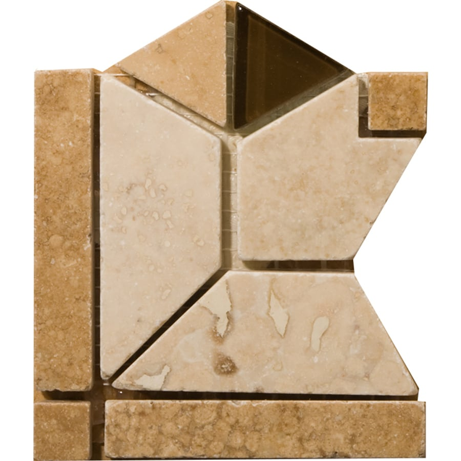 Emser 4-in x 4-in Mietres Natural Travertine Floor Tile