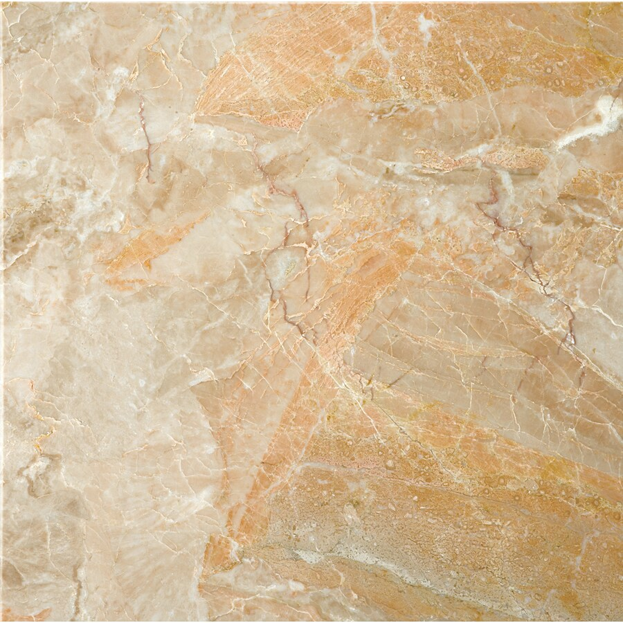 Shop Emser Breccia Oniciata Marble Floor And Wall Tile