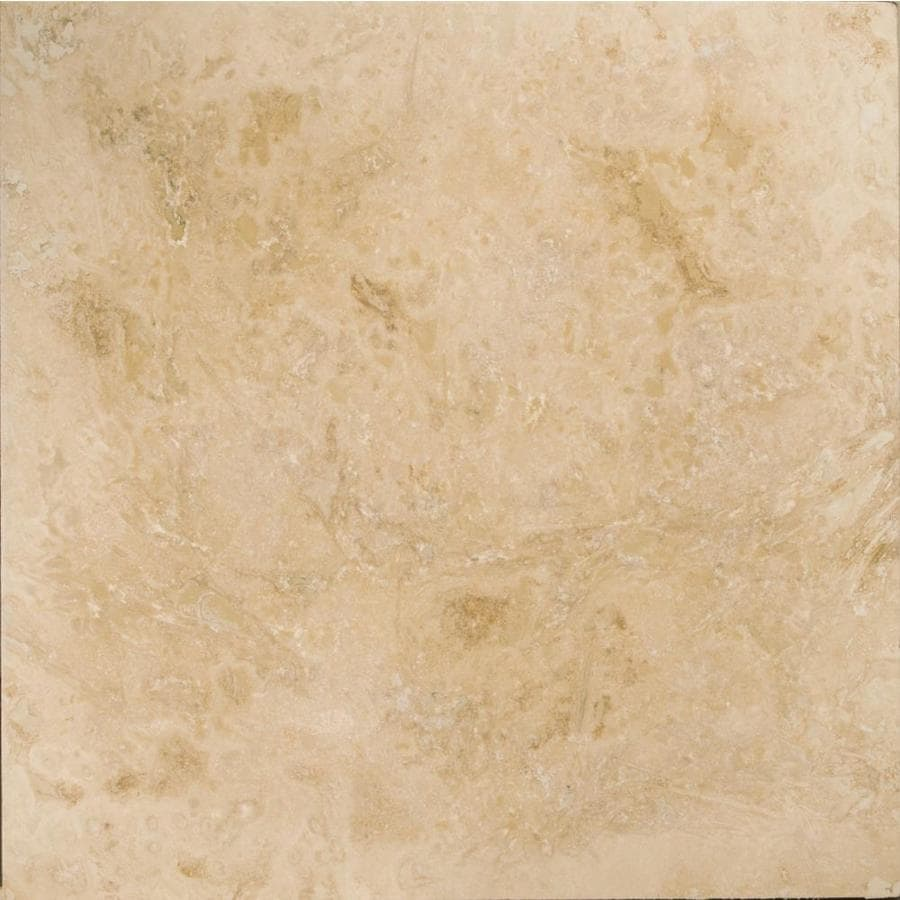 Emser Pendio Beige 12 In X 12 In Travertine Floor And Wall