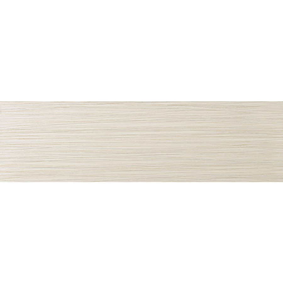 Emser Strands Oyster Thru Body Porcelain Bullnose Tile (Common: 3-in x 12-in; Actual: 2.87-in x 11.73-in)