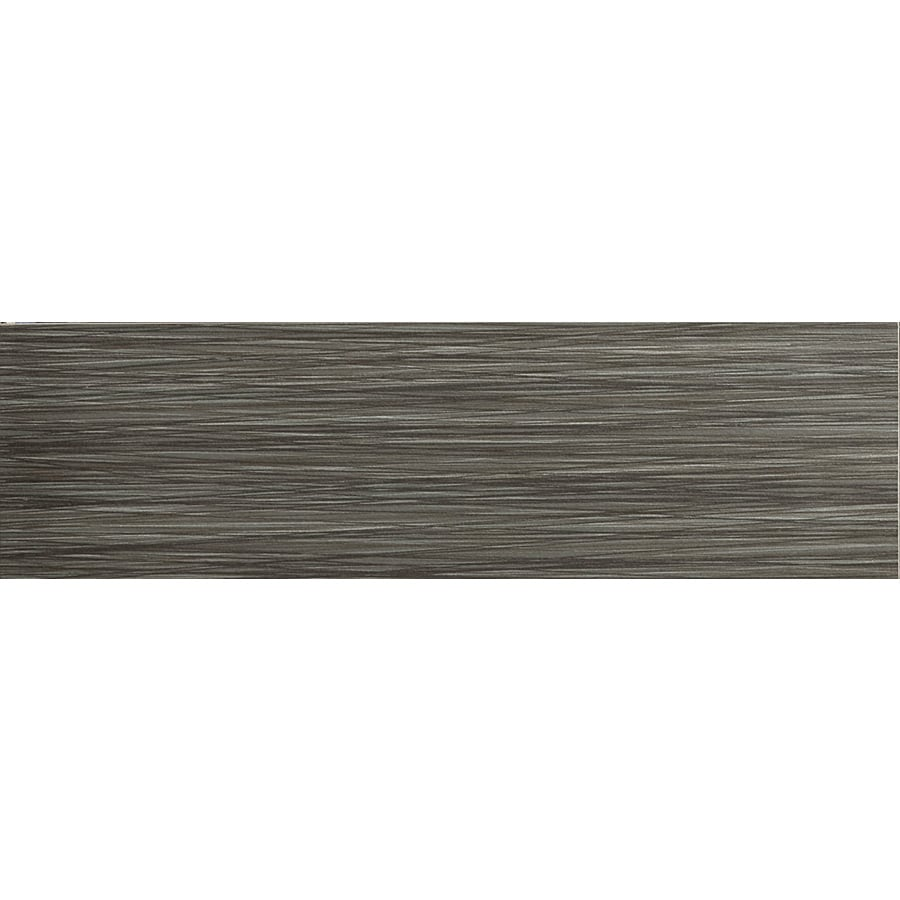 Emser Strands Twilight Thru Body Porcelain Bullnose Tile (Common: 3-in x 12-in; Actual: 2.87-in x 11.73-in)