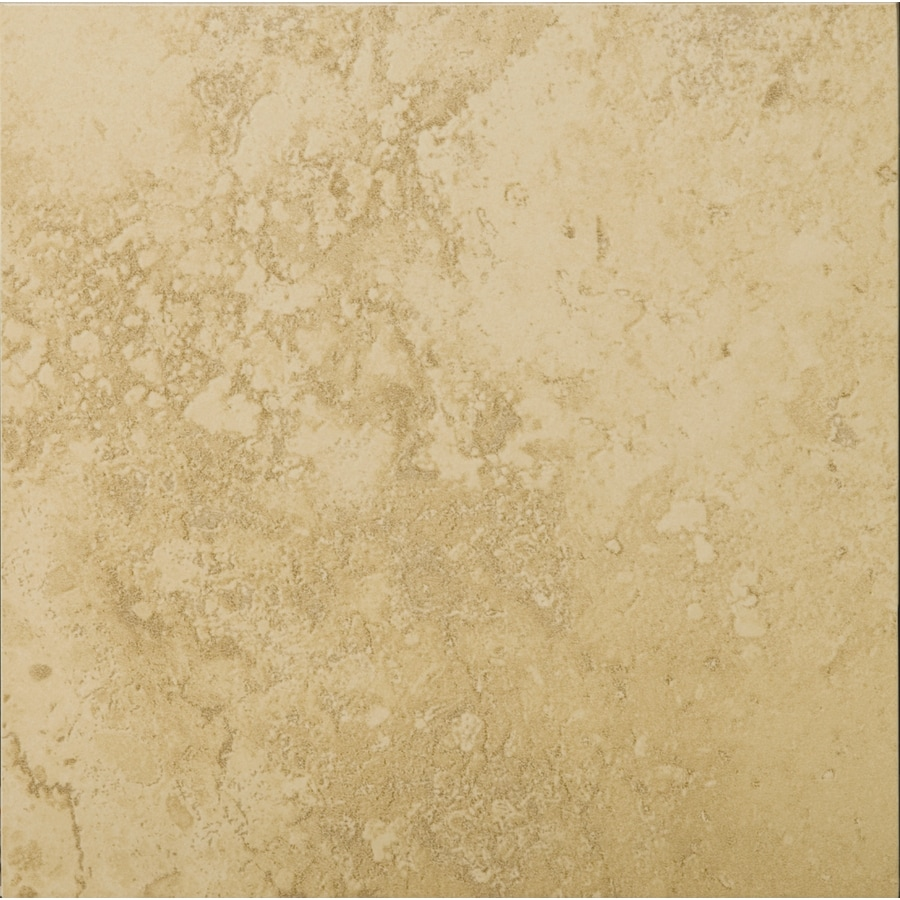 Emser Taverna 6-Pack Beige Porcelain Floor and Wall Tile (Common: 20-in x 20-in; Actual: 19.69-in x 19.69-in)