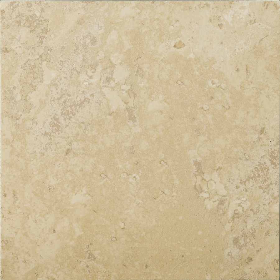 Emser Taverna 6-Pack Crema Porcelain Floor and Wall Tile (Common: 20-in x 20-in; Actual: 19.69-in x 19.69-in)