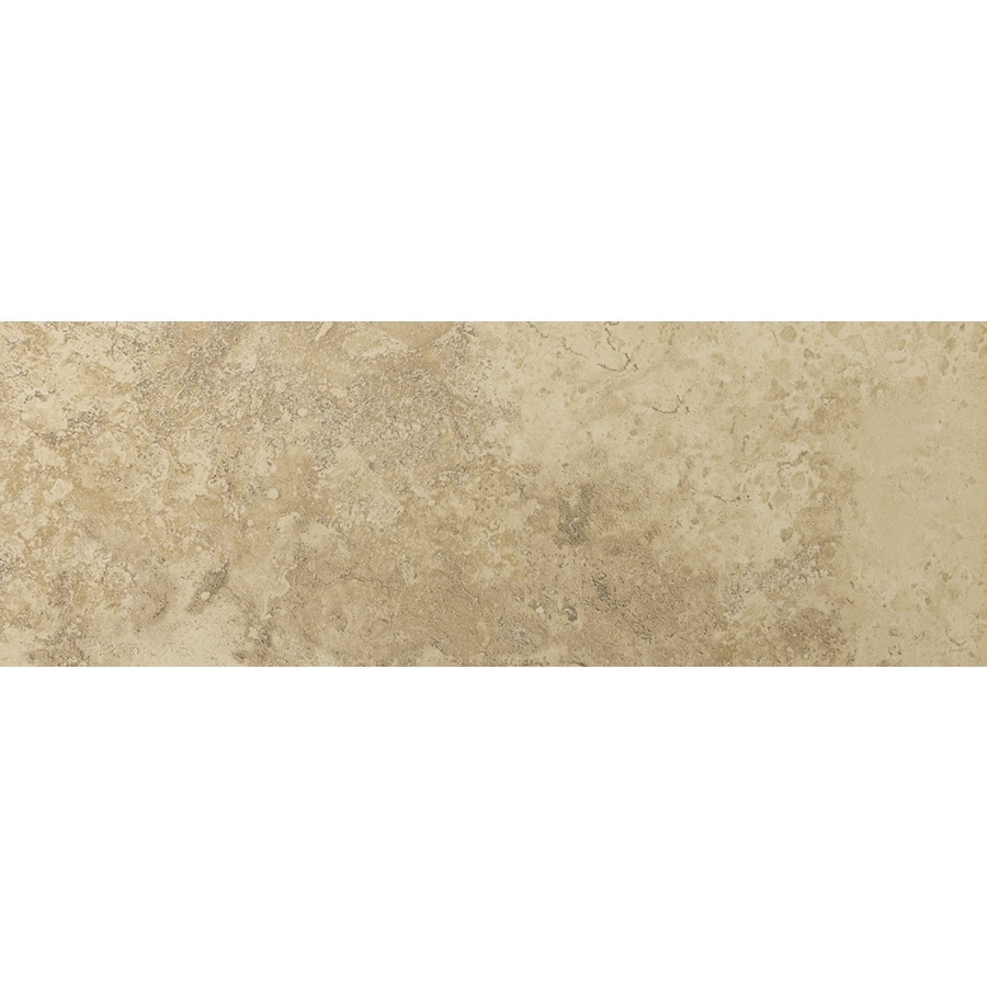 Emser Taverna Beige Porcelain Bullnose Tile (Common: 3-in x 13-in; Actual: 2.95-in x 12.99-in)