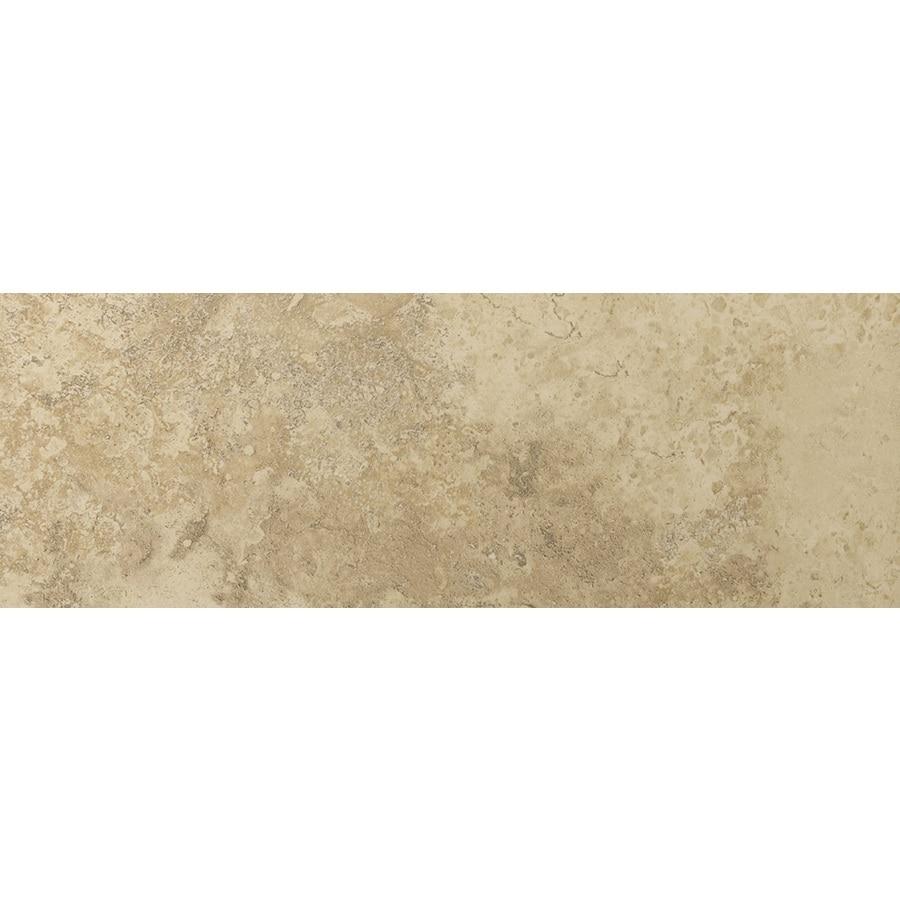 Emser Taverna Beige Porcelain Bullnose Tile (Common: 3-in x 13-in; Actual: 2.95-in x 12.99-in)