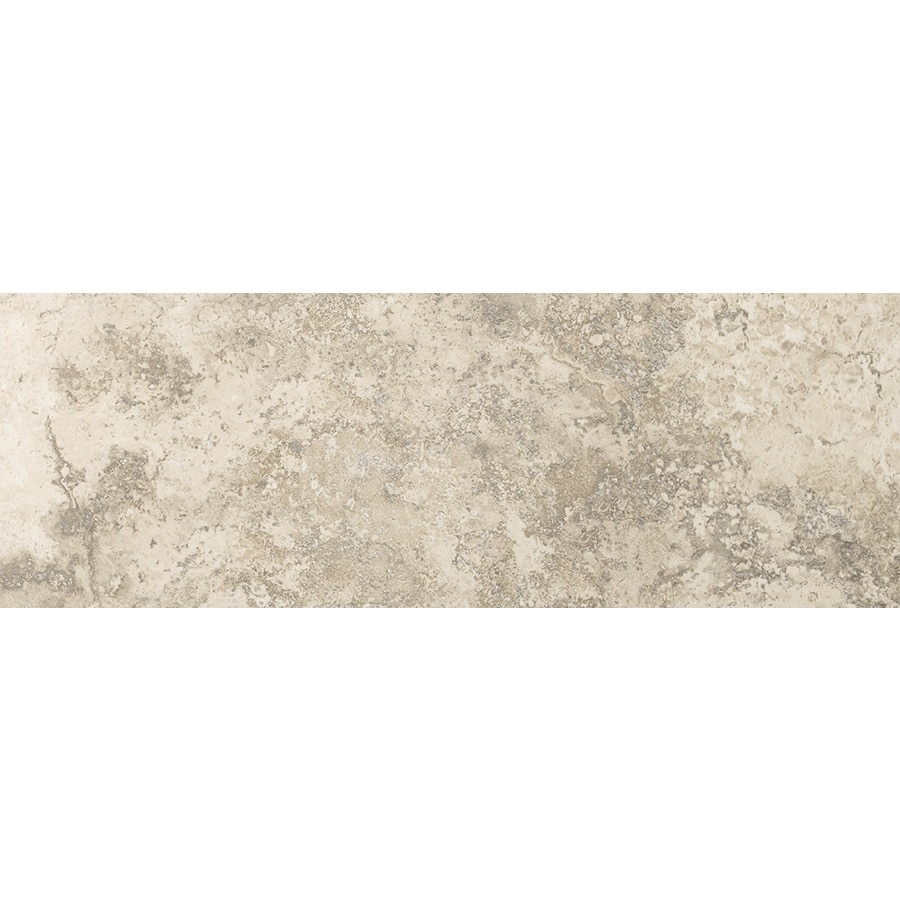 Emser Taverna Crema Porcelain Bullnose Tile (Common: 3-in x 13-in; Actual: 2.95-in x 12.99-in)