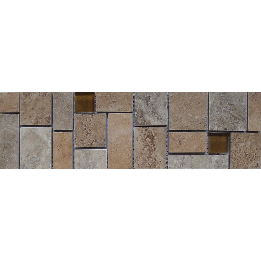 Emser Lucerne Listello Porcelain Listello Tile (Common: 3-in x 13-in; Actual: 3.17-in x 12.99-in)