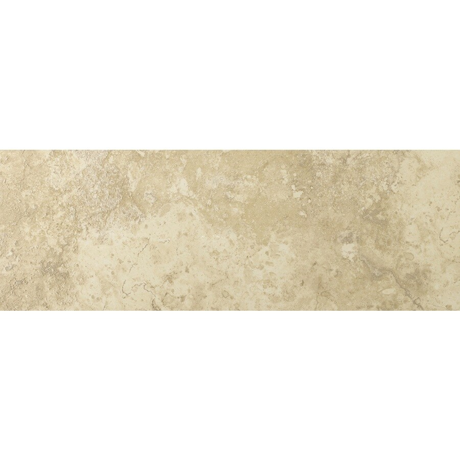 Emser Lucerne Alpi Porcelain Bullnose Tile (Common: 3-in x 13-in; Actual: 3.17-in x 12.99-in)