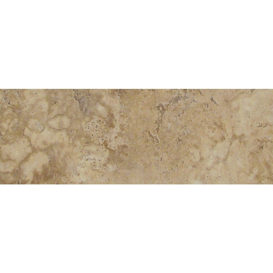 Emser Lucerne Pilatus Porcelain Bullnose Tile (Common: 3-in x 13-in; Actual: 3.17-in x 12.99-in)