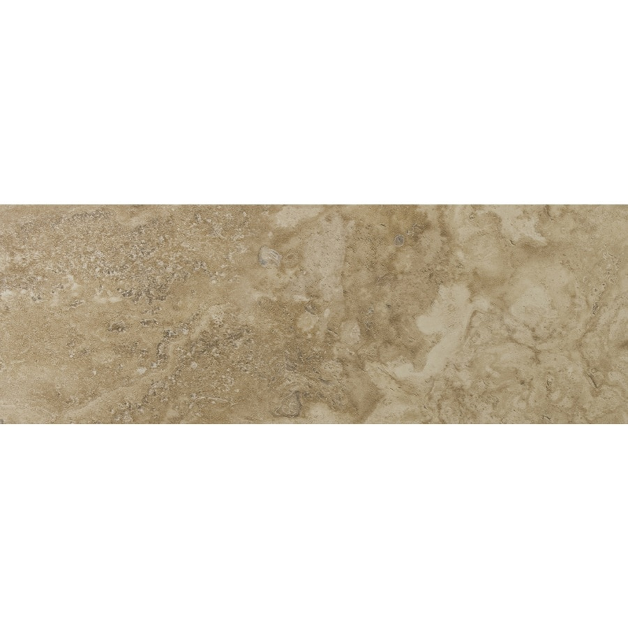 Emser Lucerne Rigi Porcelain Bullnose Tile (Common: 3-in x 13-in; Actual: 3.17-in x 12.99-in)