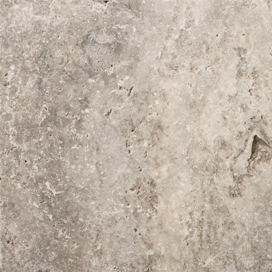 Shop Emser Trav Ancient Tumbled Silver Travertine Floor And Wall