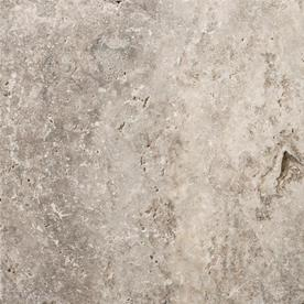 Emser Trav Ancient Tumbled Silver Travertine Floor And Wall Tile Common 16 In