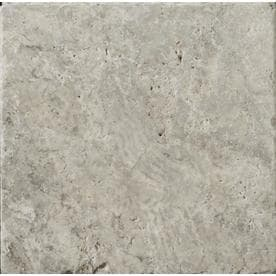 Emser Trav Ancient Tumbled 25 Pack Silver Travertine Floor And Wall Tile Common