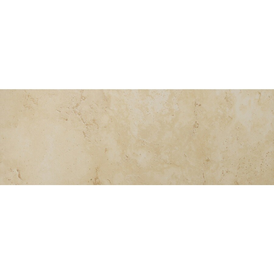 Emser Lucerne Grassen Porcelain Bullnose Tile (Common: 3-in x 13-in; Actual: 3.17-in x 12.99-in)