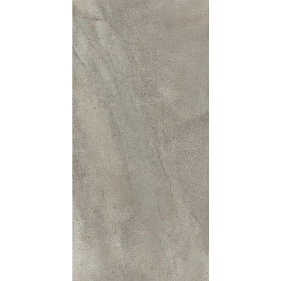 Shop Emser 8 Pack Napa Grigio Glazed Porcelain Floor Tile Common