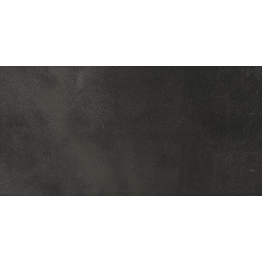 Emser Cosmopolitan 6-Pack Charcoal Porcelain Floor and Wall Tile (Common: 12-in x 24-in; Actual: 11.79-in x 23.79-in)