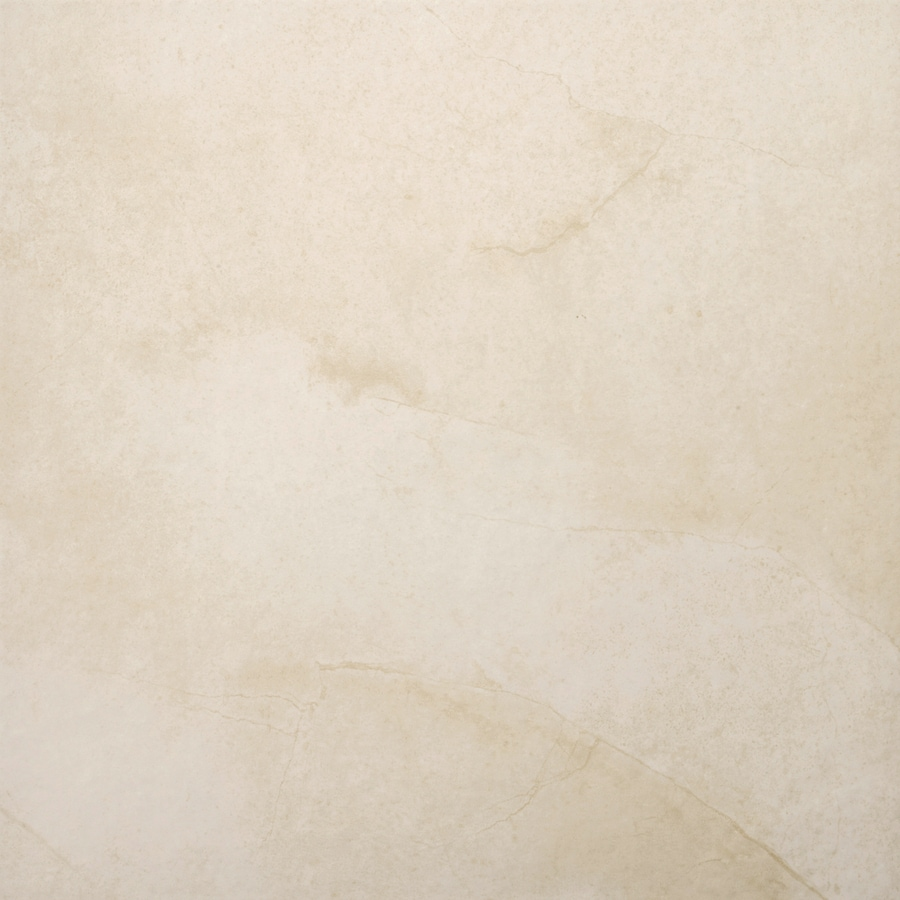 Emser St Moritz 7-Pack Cream Porcelain Floor and Wall Tile (Common: 18-in x 18-in; Actual: 17.84-in x 17.84-in)