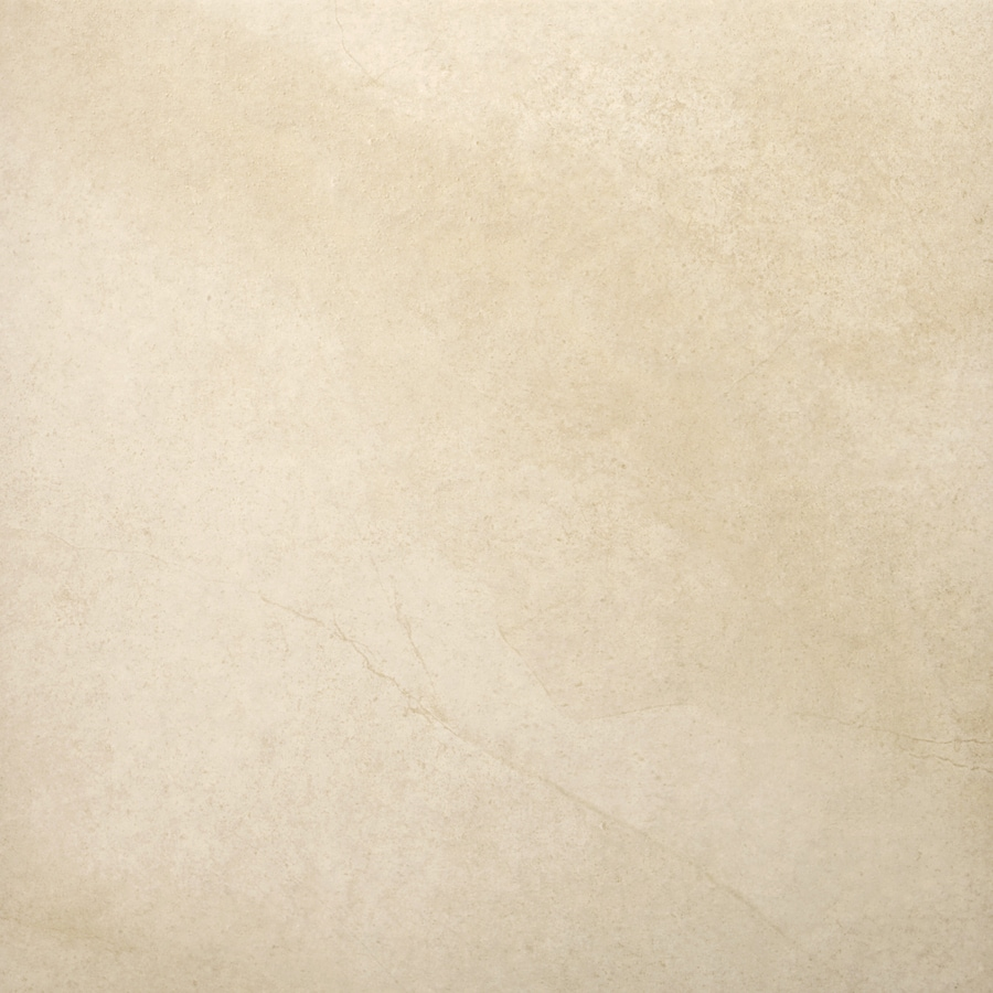 Emser St Moritz 7-Pack Ivory Porcelain Floor and Wall Tile (Common: 18-in x 18-in; Actual: 17.84-in x 17.84-in)