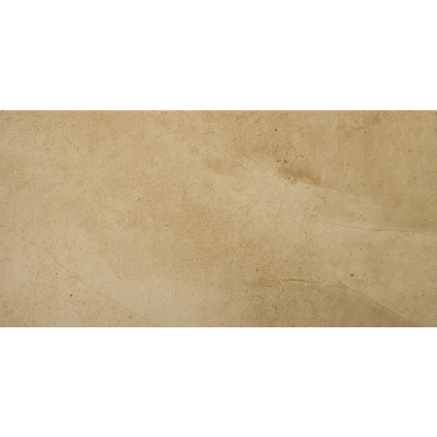 Emser St Moritz 6-Pack Tan Porcelain Floor and Wall Tile (Common: 12-in x 24-in; Actual: 11.75-in x 23.75-in)