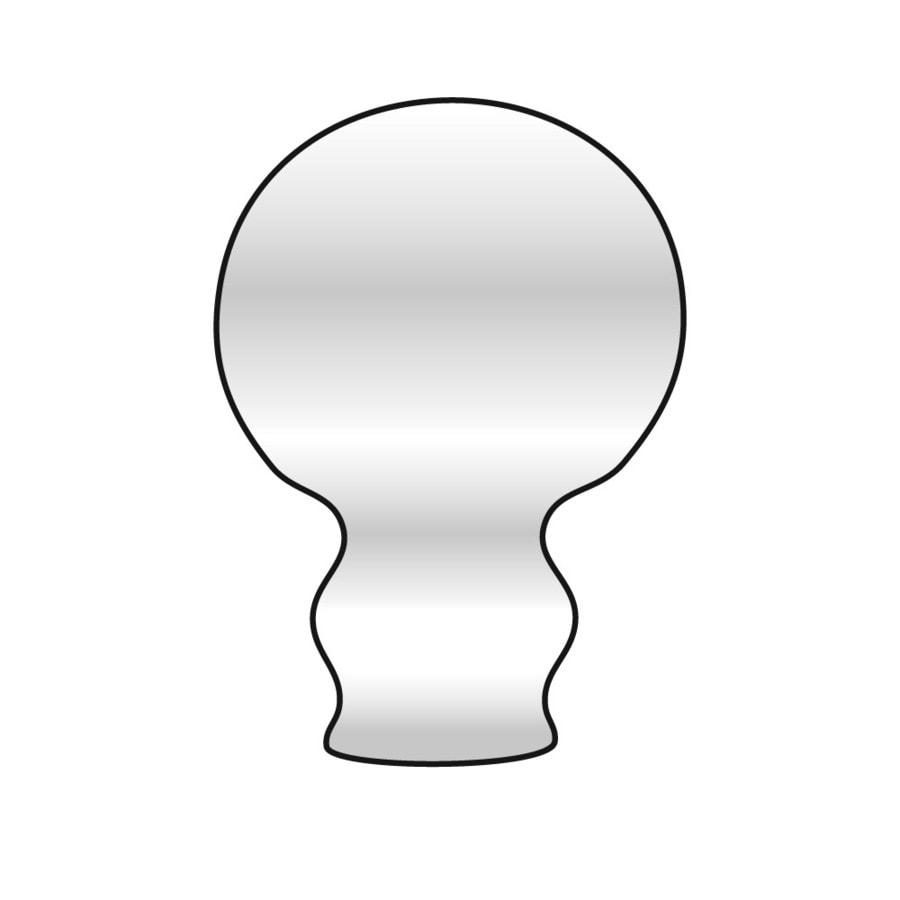 Emser Lucerne Pilatus Porcelain V Cap Tile (Common: 2-in x 2-in; Actual: 2-in x 2-in)