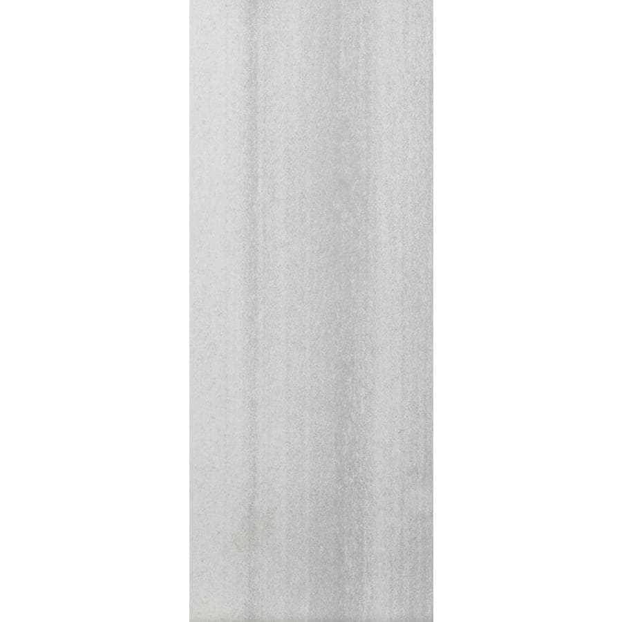 Emser 10-Pack Perspective White Glazed Porcelain Floor Tile (Common: 6-in x 24-in; Actual: 5.9-in x 24-in)