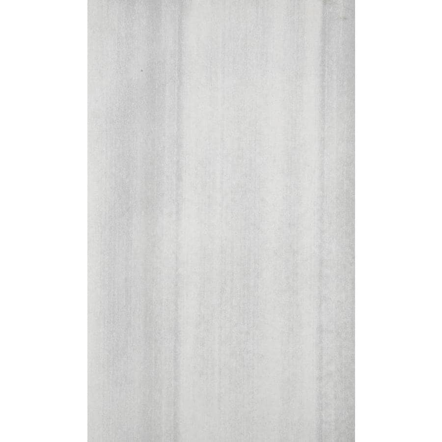 Shop Emser Perspective 8-Pack White Porcelain Floor and Wall Tile ...