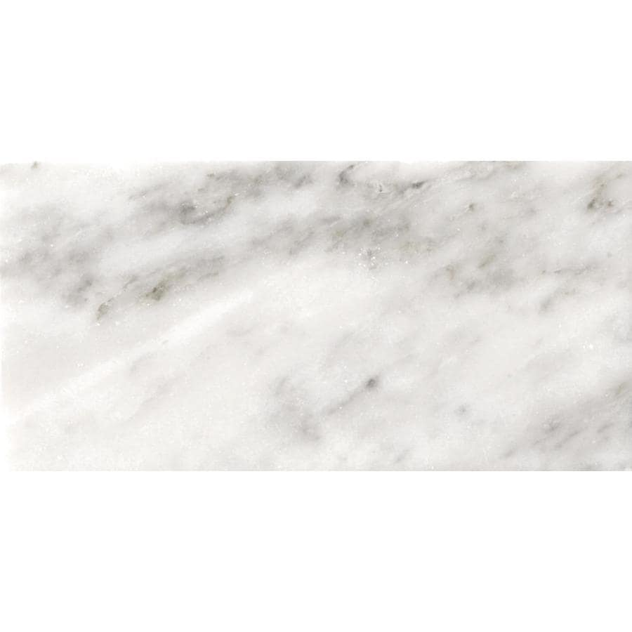 Emser BIANCO GIOIA 20-Pack Bianco Gioia Nantes Marble Floor and Wall Tile (Common: 4-in x 8-in; Actual: 4.02-in x 8.03-in)