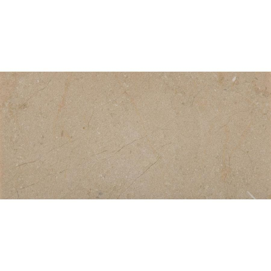 Emser CREMA MARFIL 20-Pack CREMA MARFIL CLASSICO Marble Floor and wall tile (Common: 4-in x 8-in; Actual: 8.0-in x 4.0-in)