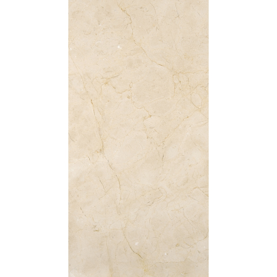 Emser Crema Marfil Classico Marble Floor and Wall Tile (Common: 3-in x 6-in; Actual: 3.1-in x 6.1-in)