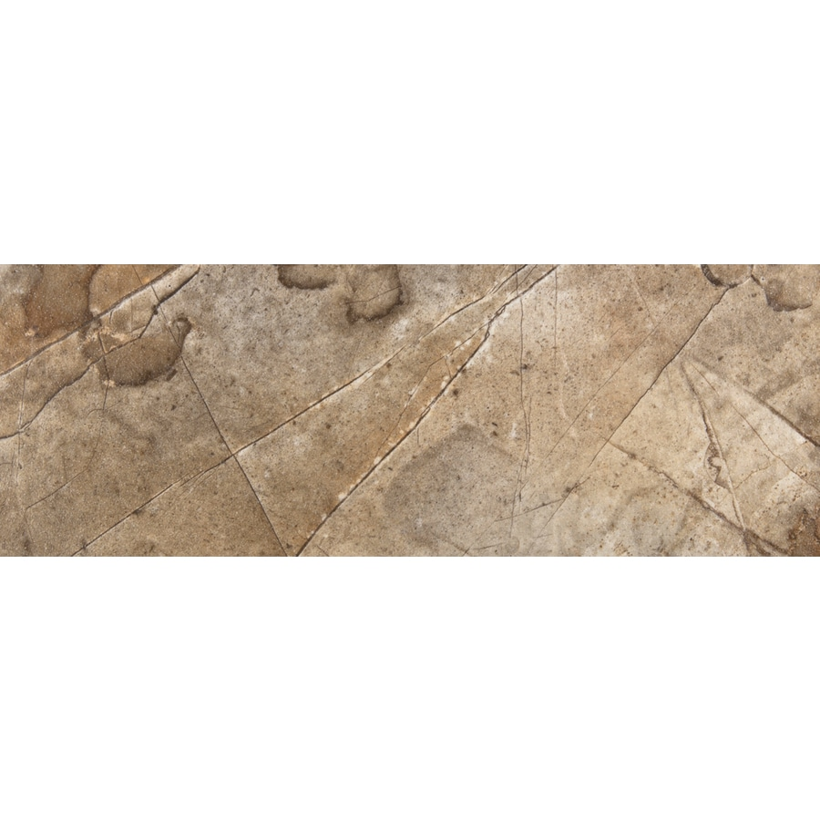 Emser Eurasia Noce Porcelain Bullnose Tile (Common: 3-in x 13-in; Actual: 2.95-in x 12.99-in)